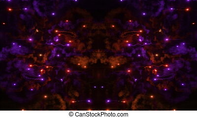 abstract clip made from fireworks display
