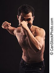 Come On and Fight! - Arrogant man challenges you for a fist...