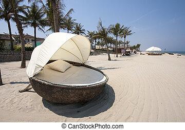 Cabana on beach - Cabana on Cui Dai beach, Hoi An, Vietnam
