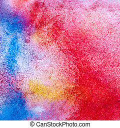 macro texture color watercolors with brush strokes