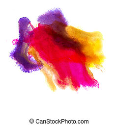 red purple yellow background watercolour brush texture...