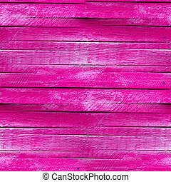seamless texture of the wooden fence of the old pink