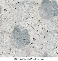seamless texture old concrete with cracked and stained...