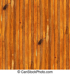 seamless texture yellow lacquered of old wood boards...