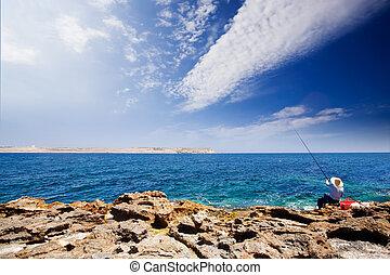 wędkarski, Ocean