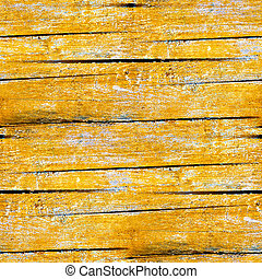 yellow seamless texture of old wood planks