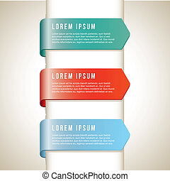 infographics beige - infographics icon over beige background...