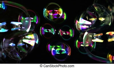 abstract bubbles shot in super slow motion with the sony FS700 high speed camera