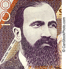 Fan S. Noli (1882-1965) on 100 Leke 1996 Banknote from...