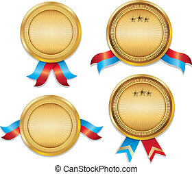 Awarrd Medals Template Set 01 - I am using Adobe Illustrator