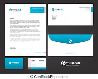 Stationery Template Pack 01 - I am using Adobe Illustrator