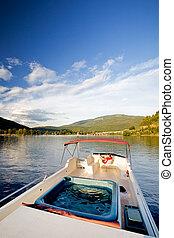 femme, yacht