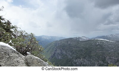 beautiful landscape in yosemite national park, california,...