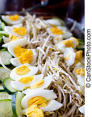 Indonessian Food - An indonessian traditional meal, gado...