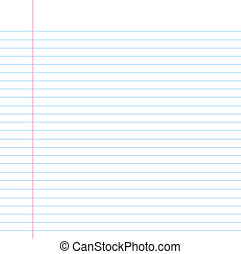 Seamless lined paper - Blank notebook filler paper...