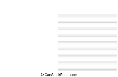 Seamless lined paper note - High resolution seamless lined...