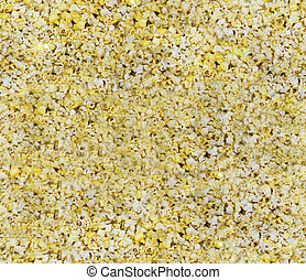 Seamless Popcorn Background - A seamless popped popcorn...