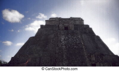 the mayan ruins at uxmal, mexico the mayans believe that...