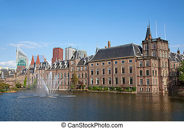 Binnenhof - Famous parliament and court building complex...