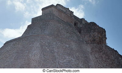 time-lapse of the mayan ruins at uxmal, mexico the mayans...