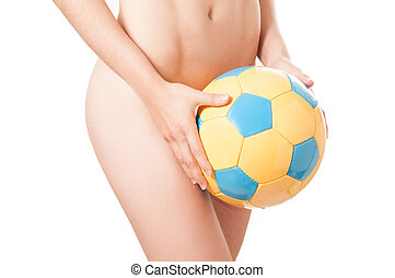 Brazilian Soccer Woman - Beautiful legs Brazilian model nude...