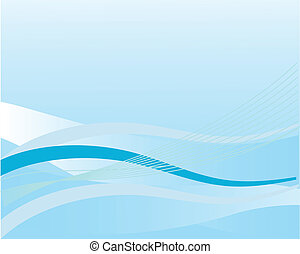 Abstract blue background. Vector illustration.
