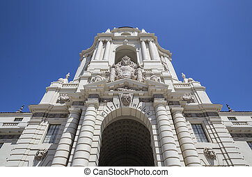 Pasadena City Hall - Grand entrance to the historic Pasadena...