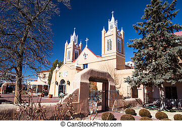 San Felipe de Neri Church in Old Town Alburqueque, New...