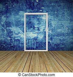 Empty Room with Door