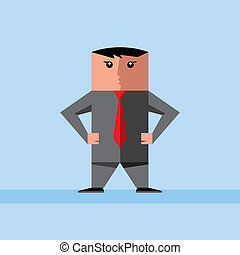 Young business men vector