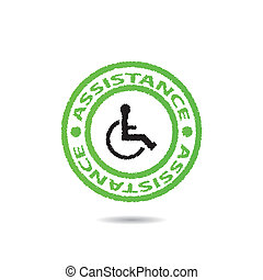 Disabled sign vector .vector.EPS10