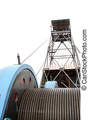 MaCheng July 12: Industrial stage winch for shaft sinking...