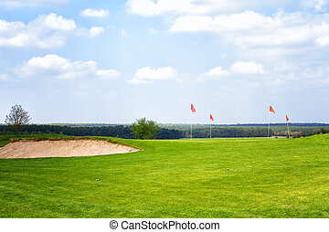 Golf Course / Summer Day