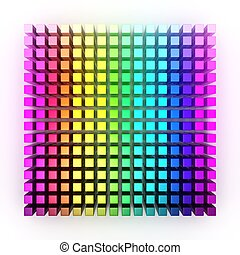 Spectrum - Three dimensional geometric composition of the...