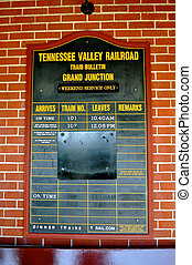 Tennessee Valley Railroad Signs