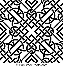 Celtic seamless pattern - The vector image Celtic seamless...