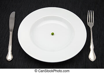 diet of a pea