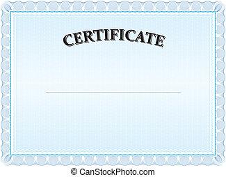 azul,  certificat, modernos, paisagem