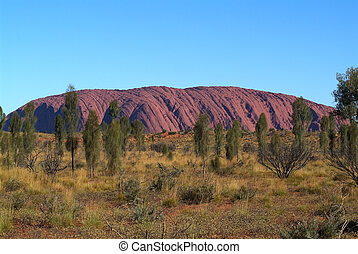 Australia, NT, Ayers Rock - Australia, Ayers Rock - Uluru,...