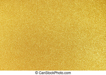 Gold Glitter Background - Background filled with shiny gold...