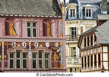 Mulhouse - Historic palace - Mulhouse (Haut-Rhin, Alsace,...