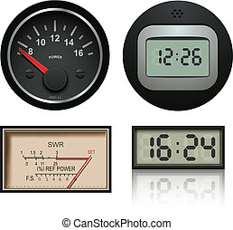 Vector clocks, gauges and speedometers