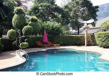 Swimming pool - Beautiful swimming pool.