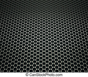 Speakers grill - Texture made of speakers grill