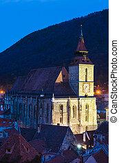 Black Church in Brasov, winter time, Romania - The Black...