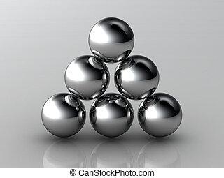Unbalance high resolution 3D image