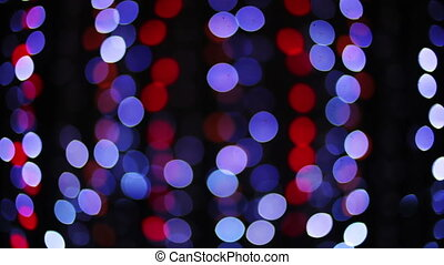 disco pattern made from blured lights