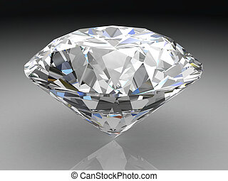 Diamond  - diamond (high resolution 3D image)