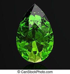 Peridot high resolution 3D image
