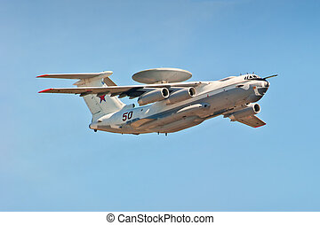 multi-plane A-50U airborne warning and control - A-50 a...
